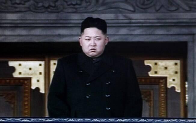 Reprodução de vídeo da KRT mostra o novo líder da Coreia do Norte, Kim Jong-un, durante último dia do funeral de seu pai, Kim Jong-il, em Pyongyang (29/12/2011)