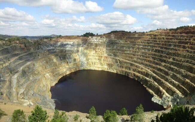 As minas de riotinto, Espanha