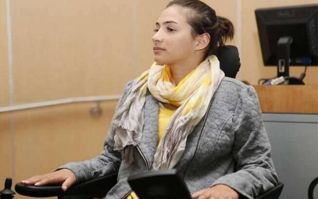 Laís Souza ficou tetraplégica após acidente em 2014