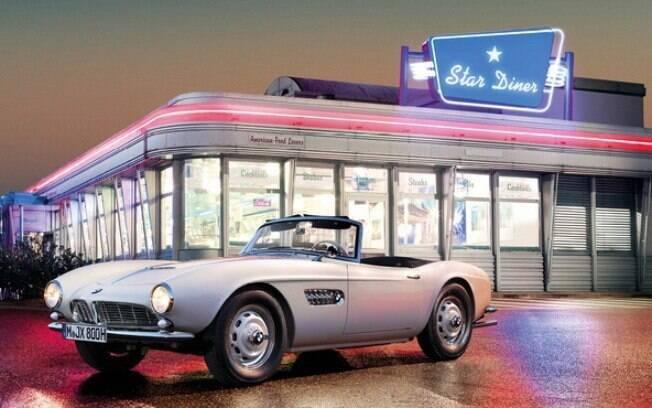 BMW revela como ficou o 507 de Elvis Presley depois de restaurado. Cor branca é a original da época do lançamento