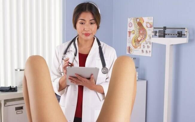 A grávida disse ter ficado a ponto de 'morrer de vergonha' após ter um orgasmo durante o exame ginecológico