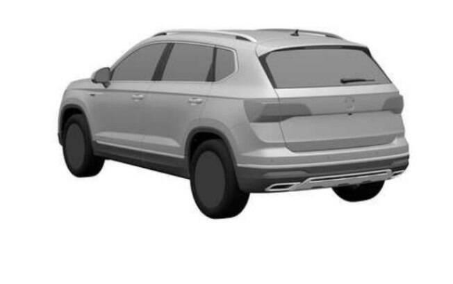 VW Tarek aparece entre as patentes que acabam de ser registradas no site do INPI. Traseira é parecida com a do T-Cross