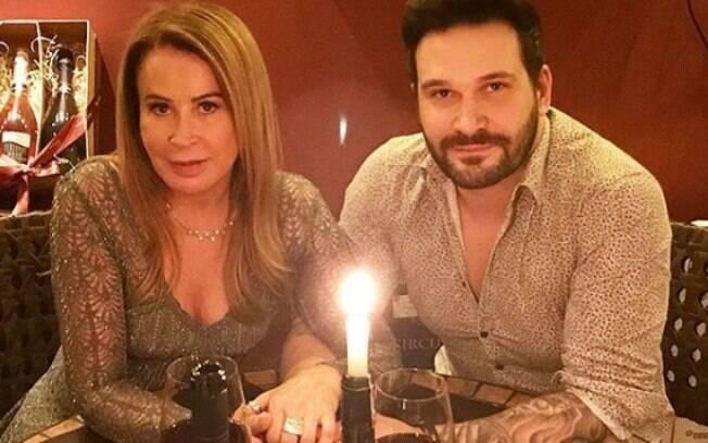 Zilu Camargo e Marco Ruggiero