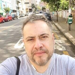 O jornalista Vitor Angelo era uma voz importante na comunidade LGBT