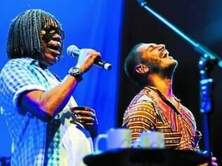 Em show no Rio, Bituca e Criolo se divertem em boa sintonia