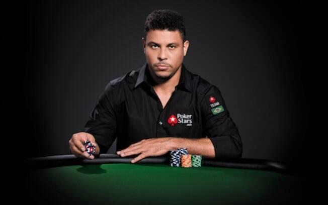 Ronaldo é garoto-propaganda da PokerStars