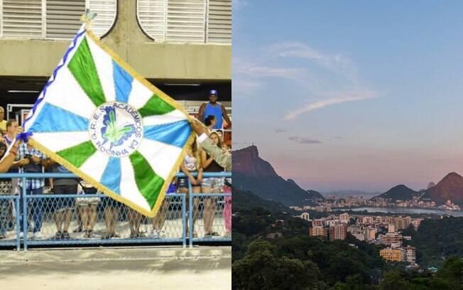 A favela da Rocinha é a maior do país e atrai muitos turistas no Rio de Janeiro