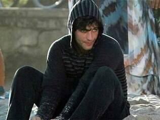 Bruno Gagliasso como o esquizofrênico Tarso, em 'Caminho das Índias'