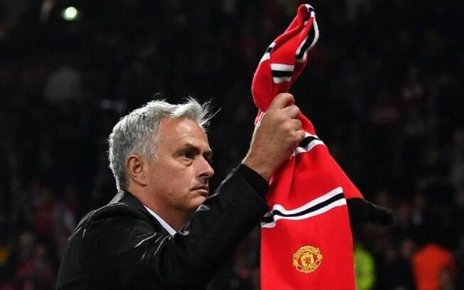 José Mourinho vive momento de pressão no Manchester United