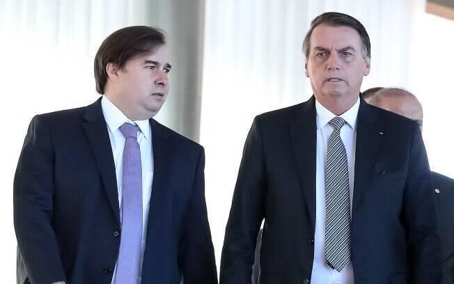 Bolsonaro se reuniu com Maia e para um café da manhã nesta terça-feira (28)
