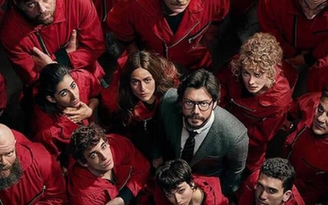 La Casa de Papel é um dos destaques da semana na Netflix