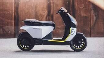 Husqvarna revela conceito de sua scooter elétrica Vektor
