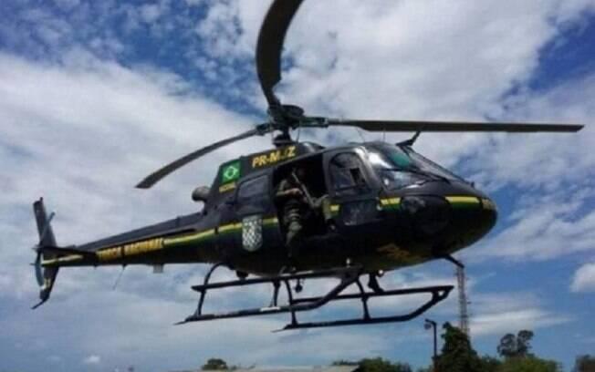 Helicóptero da Força Nacional que atuava no combate às queimadas cai no Mato Grosso