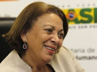 A ministra Ideli Salvatti defende a volta da divulgação da lista com empresas envolvidas com trabalho escravo