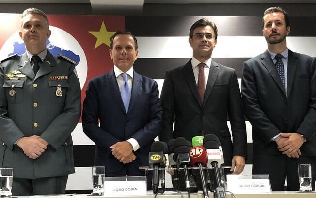 João Doria anunciou nesta segunda-feira (26) Cleber Mata e coronel Walter Nyakas para o próximo governo