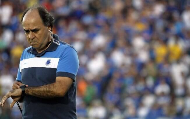 Marcelo Oliveira, técnico do Cruzeiro