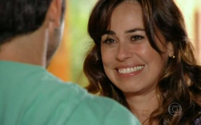 Natália conta a Juliano sobre gravidez em