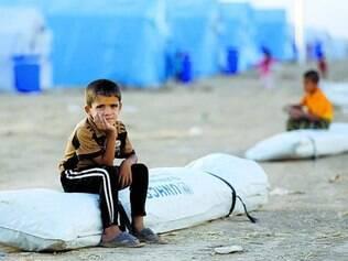 Violência. Há mais de 400 mil refugiados iraquianos em todo o mundo, segundo as Nações Unidas