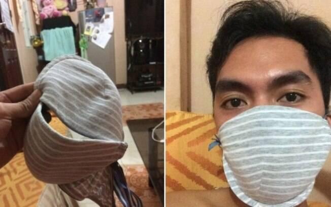Cidadãos chineses estão usando por conta própria alternativas para se prevenir do coronavírus.