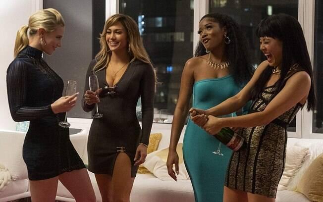 Lili Reinhart, Jennifer Lopez, Keke Palmer e COnstance Wu em