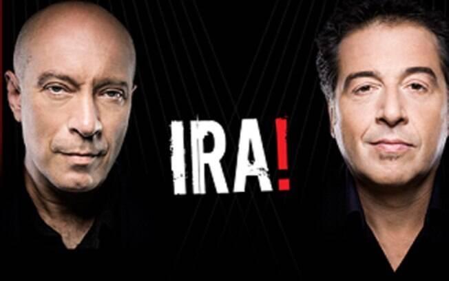 Integrante da banda Ira! marca presença no evento de música