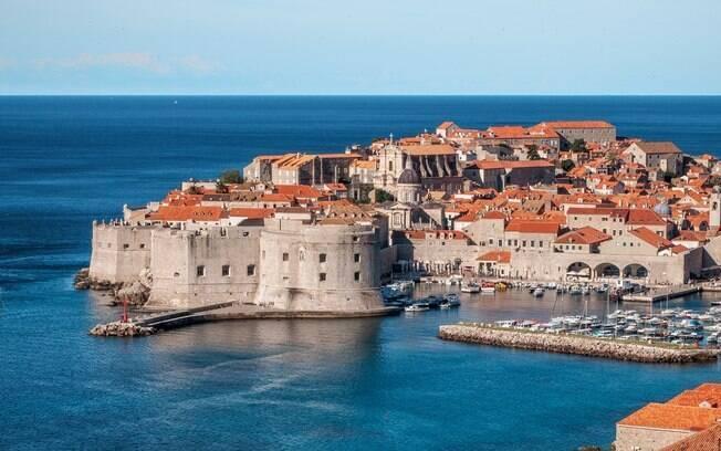 Dubrovnik, cidade da Croácia onde foram gravadas as cenas de