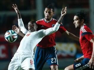 Colômbia sentiu falta de Falcao, que ainda se recupera de lesão