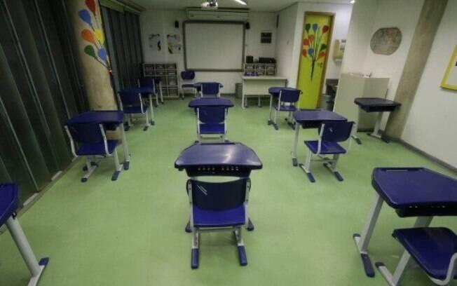 Escolas do estado deverão permanecer fechadas pelo menos até o próximo dia 20