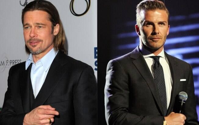 Brad Pitt e David Beckham, eleitos os pais mais estilosos