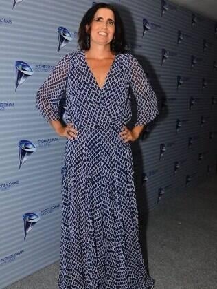 Malu Mader no prêmio 'Profissionais do Ano', em São Paulo
