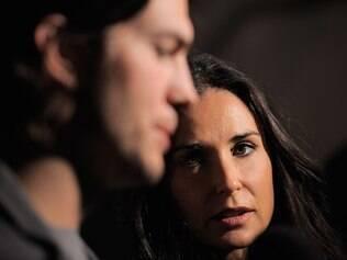 Apesar da diferença de idade e de fama entre Ashton Kutcher e Demi Moore, o casamento durou seis anos