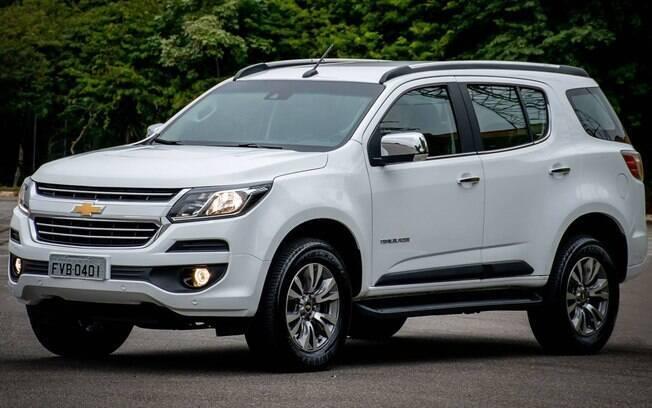 Chevrolet Trailblazer 2019 não traz novidades, mas fica mais caro