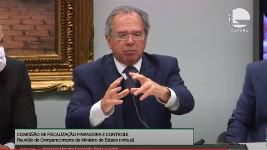 Paulo Guedes disse que vai cumprir o teto de gastos em 2022