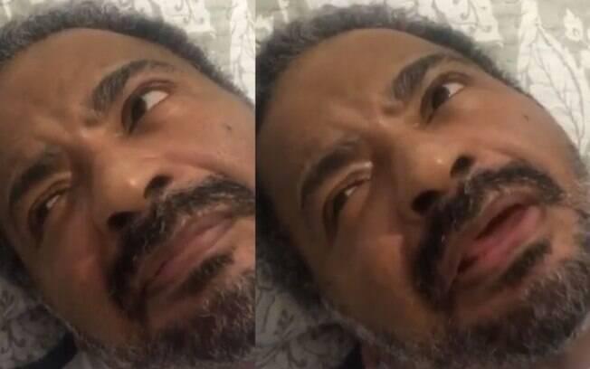 Filho de Arlindo Cruz posta vídeo do pai tentando falar