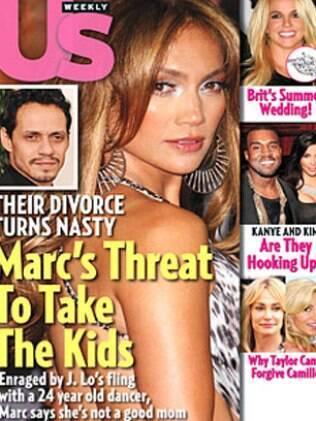 Marc Anthony quer a guarda dos filhos com Jennifer Lopez