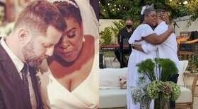Cacau Protásio se casa em cerimônia intimista; veja fotos