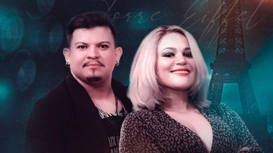 Rodrigo Samuray e Rafa Drica, vocalistas da banda Forró Saborear