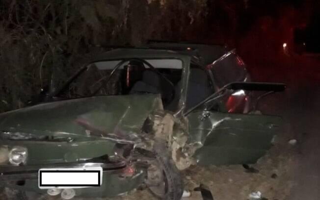 Cinco pessoas ficam feridas após colisão frontal em Valinhos