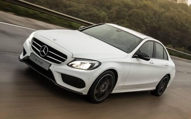O Mercedes-Benz C 300 Sport será a opção topo de linha do Classe C - isso sem passar para as versões AMG