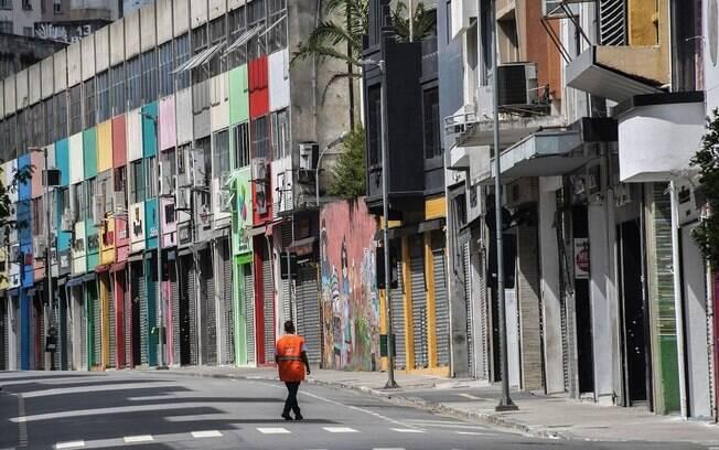 São Paulo é o pior cenário do Brasil na crise causada pelo novo coronavírus