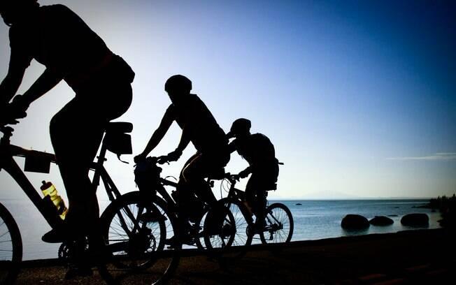 Florianópolis é um excelente lugar para o cicloturismo