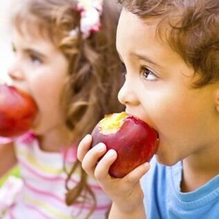 Mancha de frutas podem sair. Não se desespere