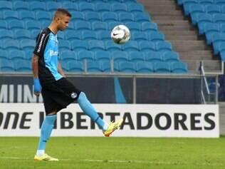 Luan é uma das esperanças do Grêmio para vencer o San Lorenzo e avançar na Libertadores