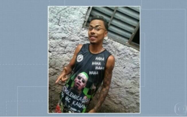 David Nascimento dos Santos foi sequestrado e assassinado pelos PMs quando caminhava para buscar um lanche.
