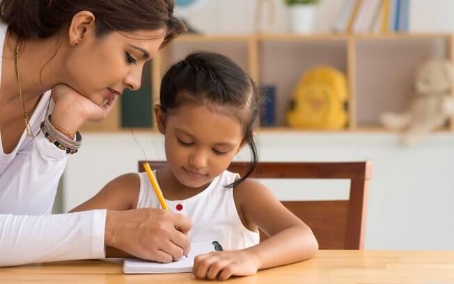É importante conversar com os filhos sobre a escola nova