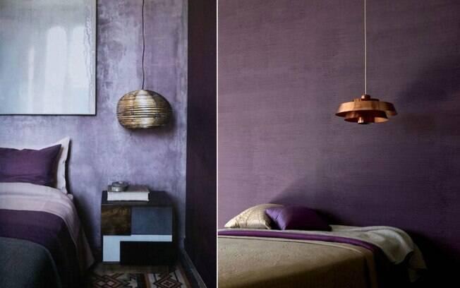 Se o restante da decoração se mantiver mais minimalista e em tons sóbrios, o 'Ultra Violet' pode aparecer em peso