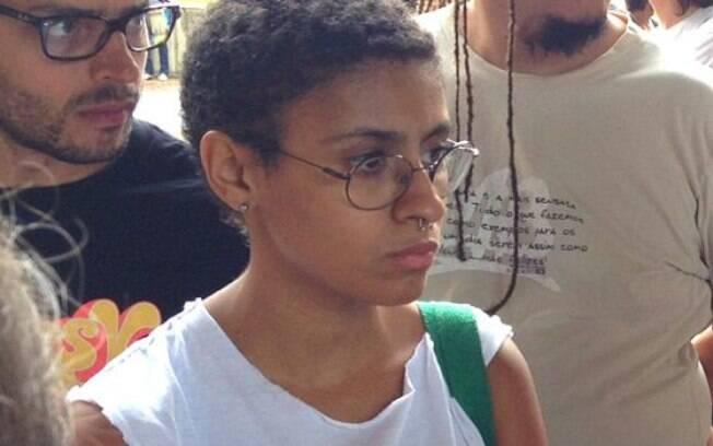 Andreza Delgado, porta voz do MPL: