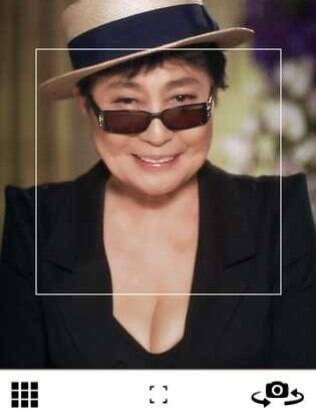 Aplicativo criado por Yoko Ono quer reunir todos os sorrisos do mundo