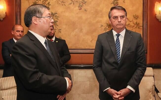 As declarações foram dadas na noite de quinta-feira em Pequim