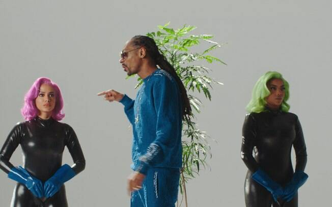 Anitta, Snoop Dogg e Ludmilla
